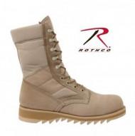 Rothco G.I. Type Ripple Sole Desert Tan Jungle Boots1
