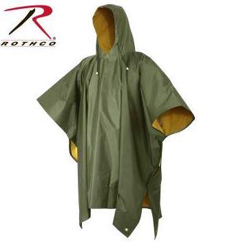 Rothco Reversible PVC Ponchos